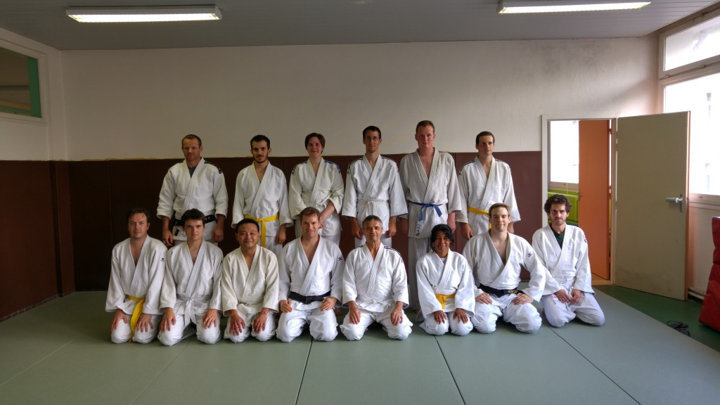 Jujitsu photo de groupe
